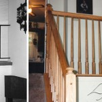 Finished Stair Railing Installation Maryland - Railtec Railings