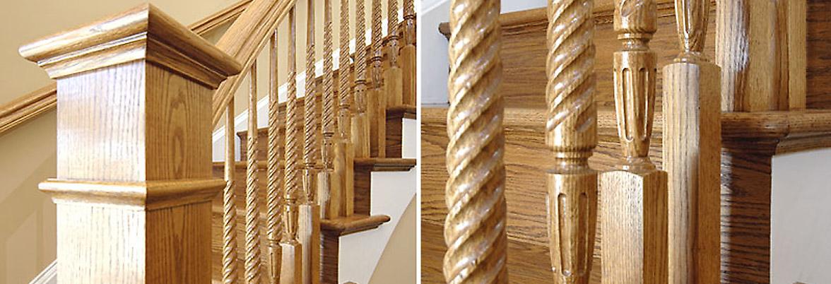 Staircase Craftsmanship Maryland - Railtec Railings